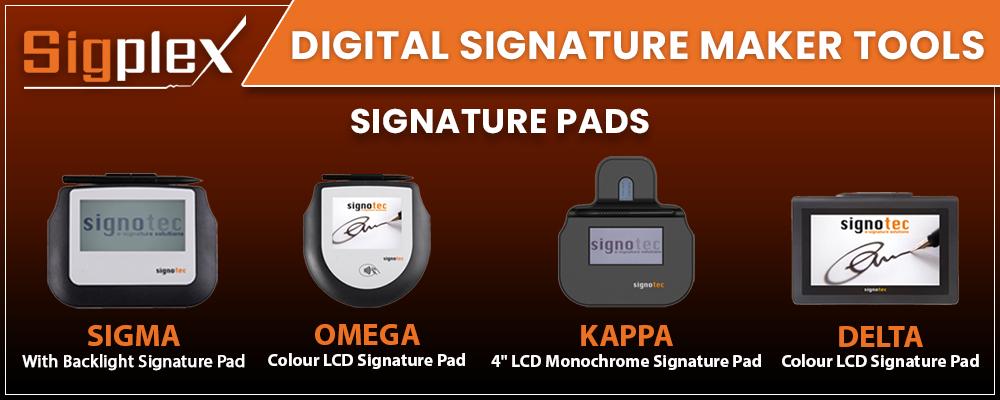 Digital Signature Maker Tools