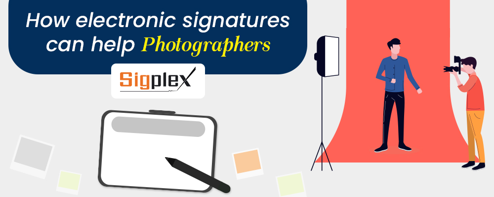 How electronic signatures can help Photographers