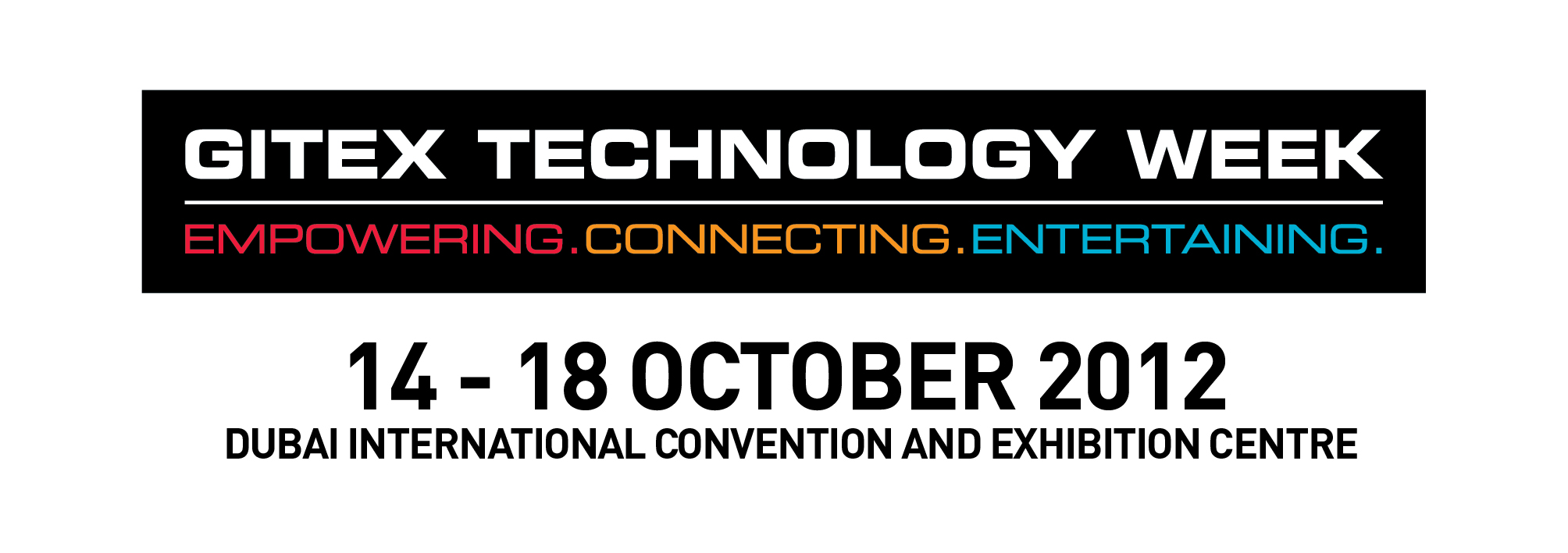 gitex technology week  2012  white1