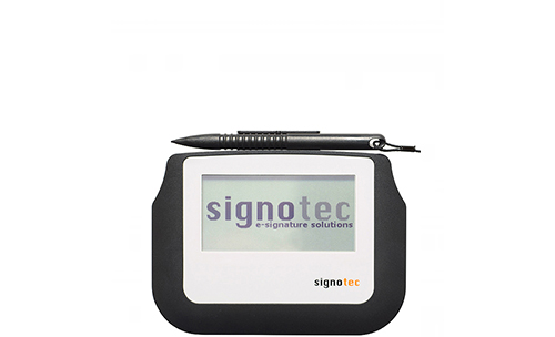 Electronic Signature Pads Sigma-with backlight By Sigplex
