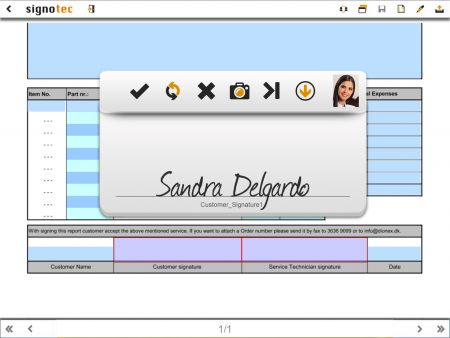 signdialog screenshot signing